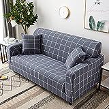 Fundas para sofás clásicos,1 Pieza impresión Tela sofás cubre Fácil de estirar sala de estar Fundas decorativas Aplicar para 1 2 3 4 Plazas(No incluye funda de almohada)(Size:1 Seater,Color:Style 9)