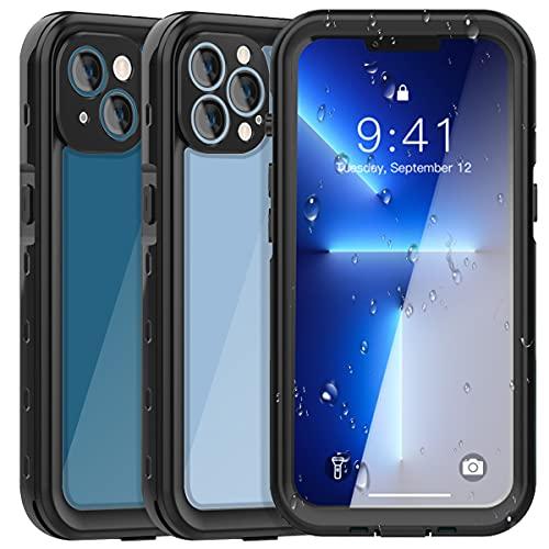 AICase für iPhone 13 Pro Max Wasserdicht Hülle,360 Grad Rundum Schutz mit Eingebautem Displayschutz IP68 Zertifiziert wasserfeste handyhülle Outdoor Case für iPhone 13 Pro Max 6.7 Zoll
