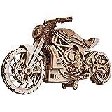 Wood Trick ウッドトリック モーターバイクDMS / 自走する3Dウッドパズル/ 木製模型