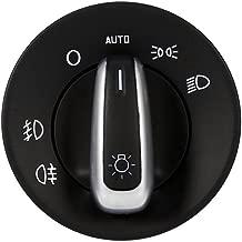 Headlight Switch Fog Light Switch for Skoda Octavia II 2004-2013