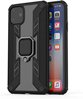 Case for iPhone 11 Pro Max DWaybox Predator Style Ring Holder Heavy Duty Armor Back Case Cover Compatible with Apple iPhone 11 Pro Max 6.5 Inch (Black)