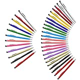 36 Pack Stylus Pens innhom Stylus Pen for Touch Screens Compatible with iPad iPhone Tablets Samsung Kindle and Black Ink Ballpoint Pens-2 in 1 Stylists Pens
