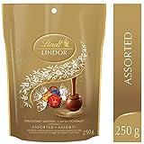 Lindt Lindor Assortiment de chocolats (lait, foncé et noisette), sachet 250 g