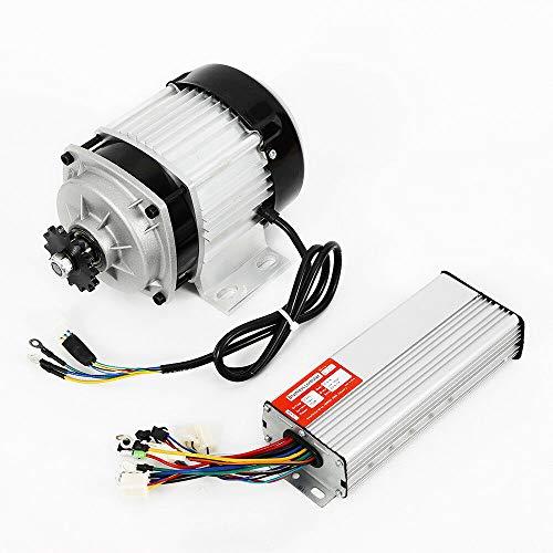 Motor eléctrico sin escobillas + controlador DIY, motor reductor de bicicleta, 48 V, 750 W
