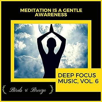 Meditation Is A Gentle Awareness - Deep Focus Music, Vol. 6