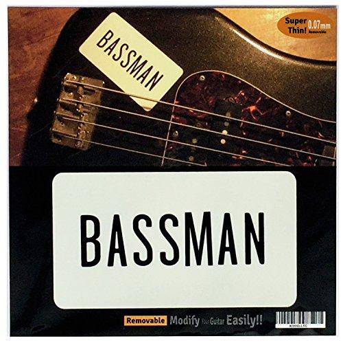 Pegatinas para guitarras y bajo Paul McCartney Bassman de The Beatles Let It Be Film - Negro