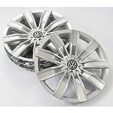 Volkswagen 5NA071457A Radkappen Radblenden 17 Zoll Radzierblenden Radzierkappen Stahlfelgen