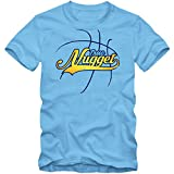 True Nugget #3 Camiseta | Hombre | Basketball | Play Offs | Champion | Basketball Shirts | American Sports | USA | T-Shirt, Colour:Light Blue (Sky Blue);Size:Small