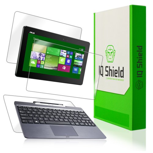 Why Choose IQ Shield Full Body Skin Compatible with Asus Transformer Book T100 (Tablet and Keyboard)...