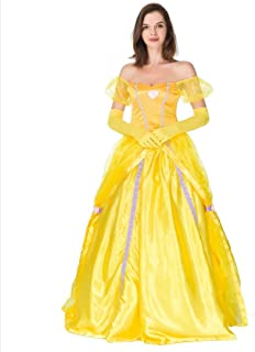 Adult Disney Princess Belle Inspired by Beauty and The Beast Dress Costume