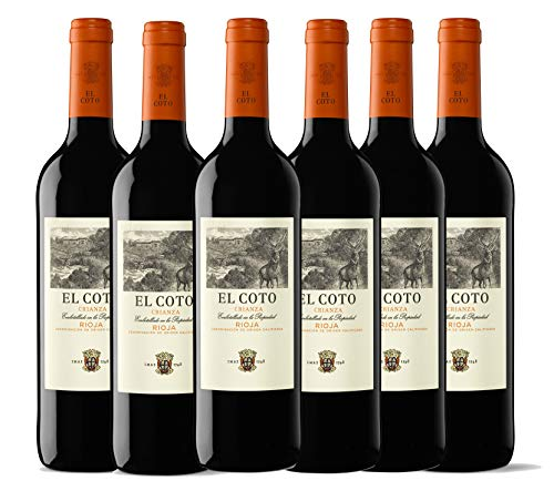 El Coto El Coto Crianza 75 Cl - 6 Paquetes de 750 ml - Total: 4500 ml