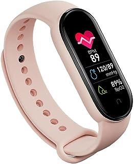 Smart Montre M6 haut de gamme Fitness Trackers RH, Activité Trackers santé exercice montre avec la fréquence cardiaque et ...