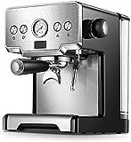 Allamp Máquina de café, Italiano Semi-automática Cafetera, Cappuccino Leche Bubble Maker, doméstica máquina de Espresso, Semi-automático de Vapor espumejea, Regalos for los Amantes del café