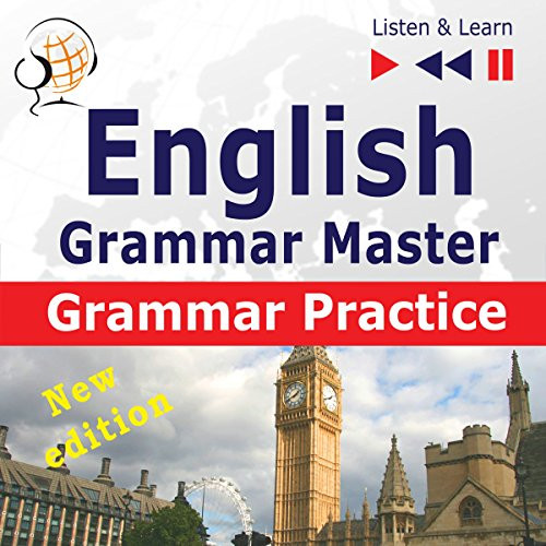 English Grammar Master - New Edition - Grammar Practice. For Upper-intermediate / Advanced Learners at Proficiency Level B2-C1 cover art