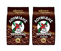 Loumidis Dark Traditional Greek Coffee 200g (pack of 2)