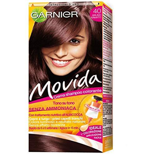 Garnier Garnier Movida Crema Shampoo Colorante, 40 Bruno Ramato