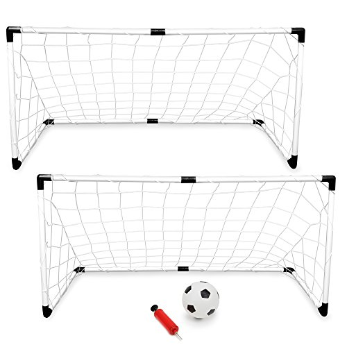 K-Roo Sports 2-Pack Youth Soccer Goals