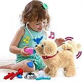 Juguetes Niños 2 3 4 años, Mascotas Juguetes, Peluche Interactivo Electrónico, Waggles con Cantar, Caminando y Ladrando, para Bebe Niña Chico