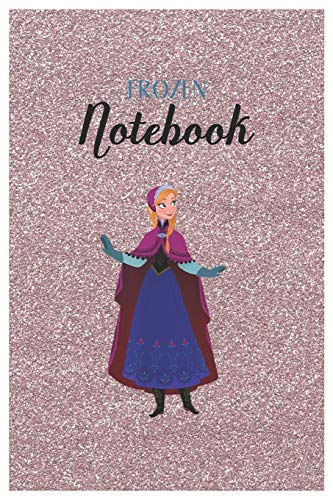 Frozen Notebook: Disney Frozen 2 Salamander Chill Vs No Chill Disney Frozen Blank Ruled Elsa Princess Frozen Notebook for Girls with 120 Pages of 6in ... for Drawing Doodling or Learning For Kids
