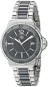 TAG Heuer Women's WAH1212.BA0859 Formula One Stainless Steel Black Dial Watch image