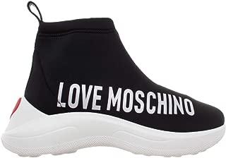Love Moschino Women's Boot Sock Sneaker