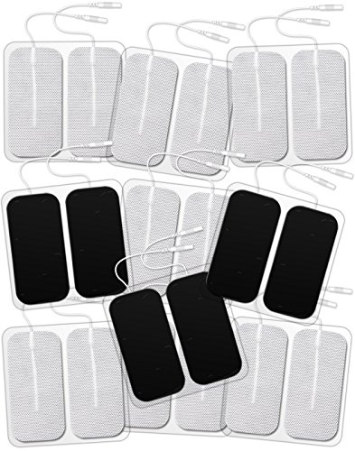 DONECO TENS Unit Pads 2X4 20 Pcs Replacement Pads Electrode Patches for Electrotherapy