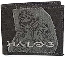 Black & Gray Heavy Weight Canvas Master Chief Wallet