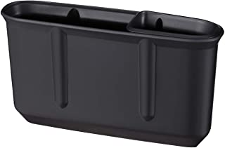 ナポレックス 車用 収納ポケット 純正感覚 シートポケットフラットワイド ブラック シートギャップ設置 汎用 JK-85