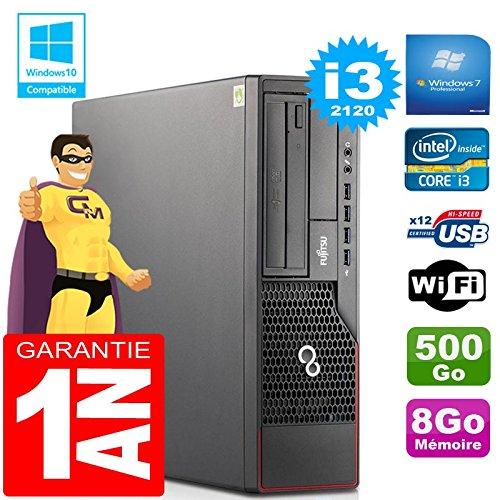 Fujitsu PC Esprimo E700 E90+ SFF Core I3-2120 RAM 8gb Scheibe 500gb Wifi W7 (Generalüberholt)