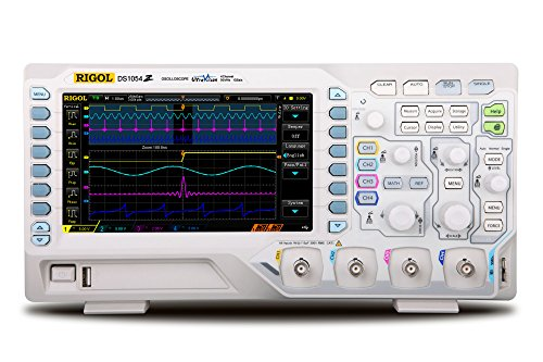 RIGOL DS1054Z Osciloscopio digital 50MHz 4 canales