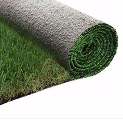 Evergreen Rasenteppich Kunstrasen 40mm Boden Trockenlegung begehbar 2x 10mt