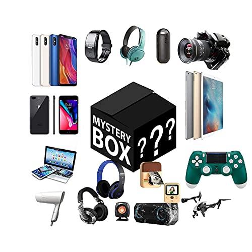 Producto ElectróNico Aleatorio, Caja Sorpresa para Hombres Y Mujeres, Probablemente Obtendrá Gamepads, Auriculares Bluetooth, Drones, y MáS,Todos Los Artículos Son Nuevos