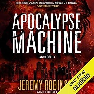 Apocalypse Machine audiobook cover art