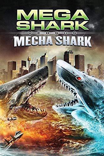 znwrr Puzzles de 1000 Piezas para Adultos Puzzlemdash; Mega Shark vs.Mecha Sharkmdash;...