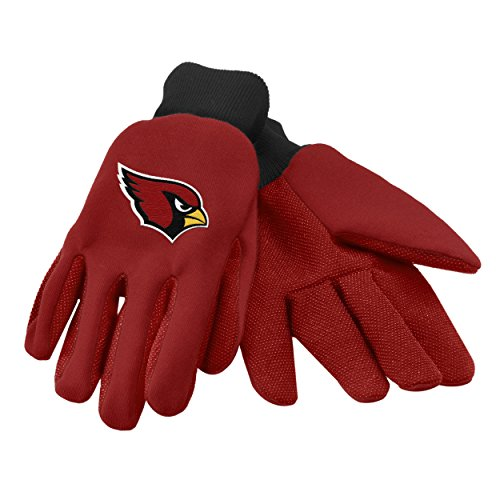 Forever Collectibles 74222 NFL Arizona Cardinals Colored Palm Glove