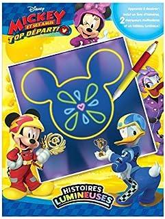 Phidal- Disney Mickey Top Départ Histoires Lumineuses, Français, Multicolore