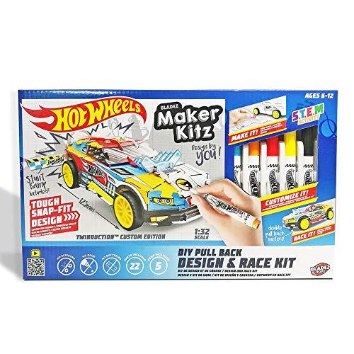 Hot Wheels Maker Kitz: DIY Design & Race Kit (BTHW-M01Y)