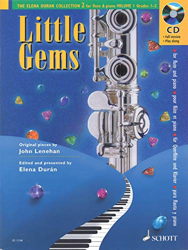 Little Gems: The Elena Duran Collection 2 for Flute & Piano, Grades 1-2