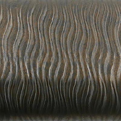ROSEROSA Peel & Stick Backsplash Cubic Wave & Stripe Pattern Textured Vinyl Contact Paper Self-adhesive Wallpaper Shelf Liner Table and Door Reform