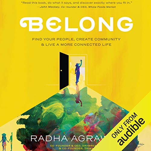 Belong audiobook cover art