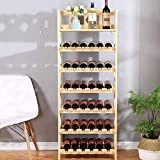 KELITINAus Wine Rack Household Wine Rack Wooden Wine Rack Solid Wood Wine Rack 60 cm X 28.5 X 152...