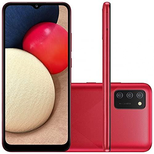 Smartphone Samsung Galaxy A02s 4G 32GB Vermelho