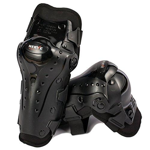 Nerve 34140304_99 Ultimate Knie Protektoren, Schwarz, Einheitsgröße