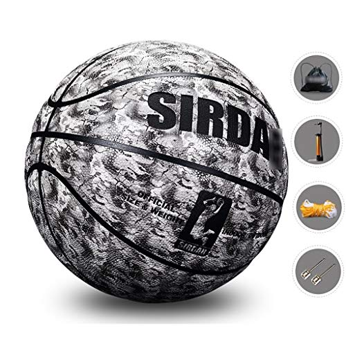 Affordable YE ZI Basketballs- Standard Basketball Indoor and Outdoor No. 7 Basketball Size 9.7 inche...