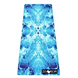 CLEANSING Ocean Studio Yoga Mat | Soft, Supportive Sustainable | Firm Grip Cushioned Exercise Mat | Non Slip Natural Rubber | Pilates Gym Mat