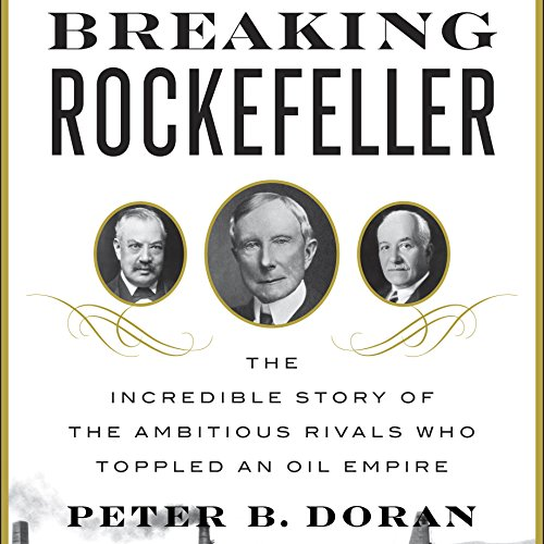 Breaking Rockefeller audiobook cover art