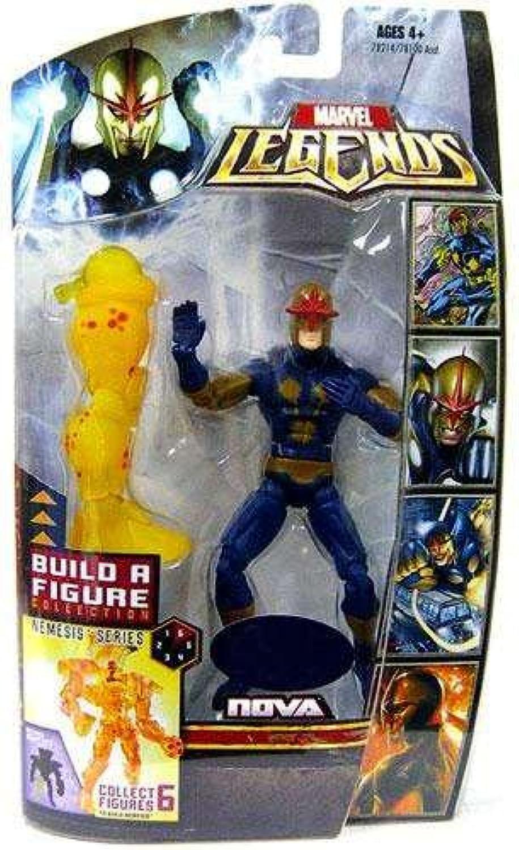 Marvel Legends Exclusive Nemesis BuildAFigure Wave Action Figure Nova