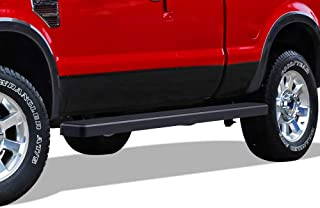 APS Wheel to Wheel Running Boards 5 inches Custom Fit 1999-2016 Ford F250 F350 Super Duty Super Cab Pickup 6.5ft Bed (Nerf Bars Side Steps Side Bars)