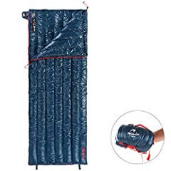 ➤BEST QUALITY MADE - Made with best quality 15D/400T nylon material, strong comfortable & water proof. Filled by best quality 800 fill power pure white goose down. ZIPPERS: YKK. ➤LIGHTEST DOWN SLEEPING BAG - Weight only 1.28lbs(regular long)/1.30lbs(...