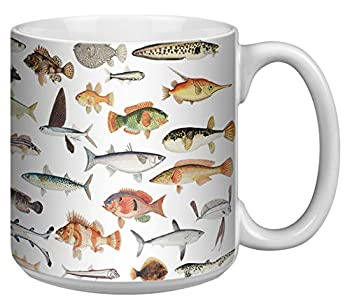 Fish 20 Ounce Jumbo Mug